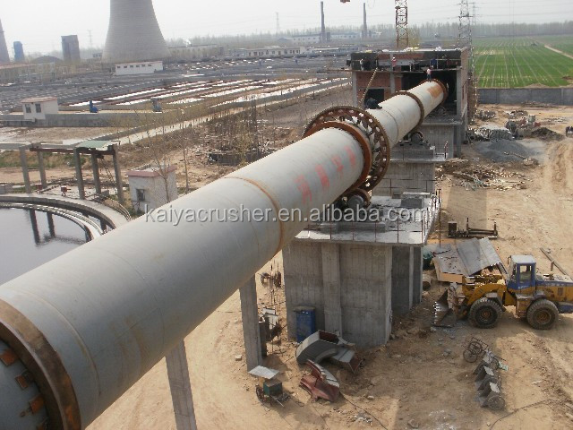 Cement Kiln Clinkers : Lime cement clinker rotary kiln production line low