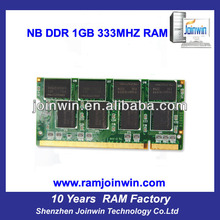 Fast delivery best price 2x1GB pc2700 ddr laptop memory 2gb