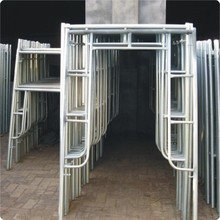 H Frame scaffolding 1219*1219 For Engineering Construction Q235