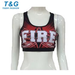 High quality custom lady's sport bra