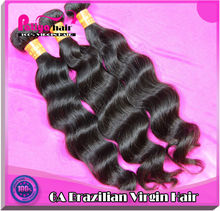 Fantastic and top grade 6A human hair extensions brazilian remy hair weave