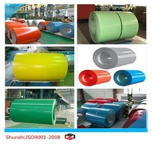 alibaba website hot rolled color coated steel coil from China manufacturing company