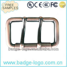 custom antique clip copper belt buckle