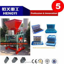 promotion QT4-35 block making machine home/low investment business block making machine