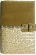 2015 PU PVC Leather Agenda Organizer Notebook book cover
