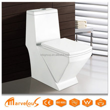 Practical White Washdown One Piece Chinese Types Of Toilet Bowl