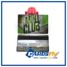 Custom Plastic Club Membership Card with Magnetic Stripe