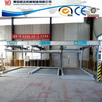 two level PSH car parking system