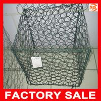 durable PVC coated gabion wire mesh / gabion mesh / gabion mesh box
