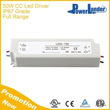 IP67 Waterproof 50W 1050mA Constant Current Led Driver with CE Certificate