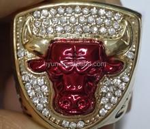 1993 Basketball Bulls Replic Championship Rings US Size 11 On Sale
