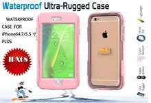 For Iphone6 New arrival waterproof underwater cases cover for iphone 6 plus 4.7/5.5 inch with Retail package