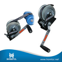hand operated winch rope guide manual winch mini winch