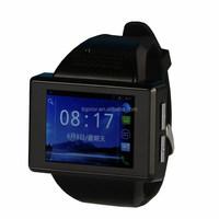 Toprov supply Dual Core CPU MTK6515 wifi gps smart watch phone 3g Andriod