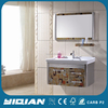 Hot Sell Mirrored Stainless Steel Bathroom Cabinet