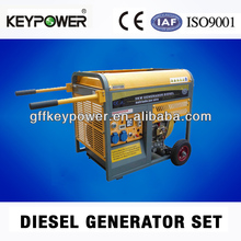 air cooled 5kw open type diesel generator with ce and iso9000