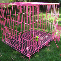 Hot Sale!!! Stainless Steel Foldable Dog Cage