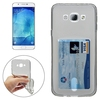 China Factory Price Ultrathin Card Slot TPU Case for Samsung Galaxy A8 Case