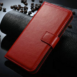 Crazy Horse Flip Cover Mobile Card Slot Book Folio Leather Wallet Case for iPhone 6S Plus