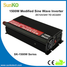 12V 220v 1500w inverter High Quality honda inverter generator China Best generator inverter CE RoHS Compliant SunKo Inverter