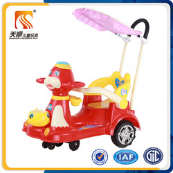 Happy swing car for use ourdoor or indoor multi-functional push swing car for baby