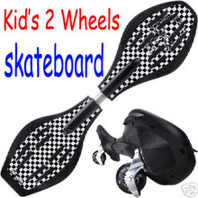 vigor children rocking plastic 2 wheels wave street surfing landsurf caster skateboard