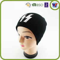 2015 Fashion Unisex Knitted Beanie Hat Colourful Custom Warm Winter Sport Hats Made in China For Sale