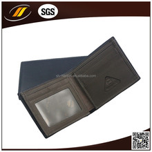 Black Color High Quality Fashion Design Lady PU Leather Wallet