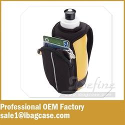 Good unisex handheld running sports water bottle carrier