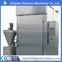 automatic food smoke house / electric food smoker house / commercial smoked food process house with steam cooking function