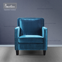 home furniture fabric wooden chair