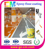 Epoxy resin flooring water proof concrete paint for car parking floor