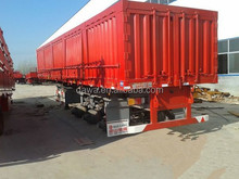 2015 China new container trailer full trailer for sale