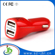 Shenzhen factory price 5v 5a 4 usb car charger for ipad and iphone