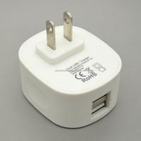 3.1A 2 port USB charger Dual USB Wall/Travel Charger US plug
