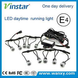 hot sale environmental friendly 100% waterproof led chip12v&24v available drl flexible lights for all car use