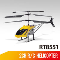 Hot product 32CM 2-ch rc mini helicopter motor with 2 color for kids