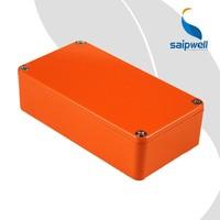 SAIP/SAIPWELL Custom Electrical Boxes Musical Instrument Effector Aluminium Enclosure