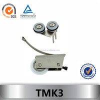 rails and pulleys for sliding doors TMK3