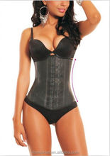 latex waist corset rubber female body