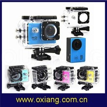 Full HD Waterproof mini wifi sports camera sj4000 extreme sports action video camera equipped with 2MP/5MP/8MP/12MP