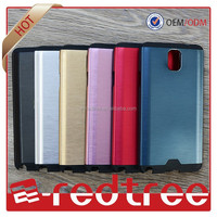 Factory price newest aluminum two in one cell phone case for brand mobiles