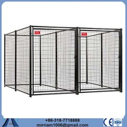 Hot sale cheap Metal or galvanized comfortable cheap chain link dog kennels