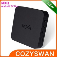 2015 android smart mxq tv box with free news preinstalled add ons tv box
