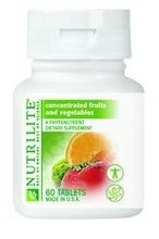 Health Food - Nutrilite? Concentrated Fruits and Vegetables - Tablets