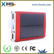 New products 10000mah solar power bank charger battery for smart phone