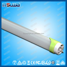 IP65 with tempering aluminum and pc material fluorescent 18w led tube t8 120cm