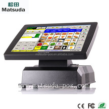 New manufacture 15 inch touch screen retail resturant pos system machine
