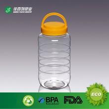 plastic jar transparent in china