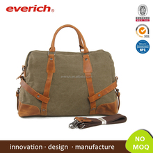 Top Selling Retro Heavy Duty Canvas Men's Travel Bag Duffel Bag for Outdoor